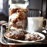 Ciasteczka owsiane z rodzynkami i białą czekoladą + filmik