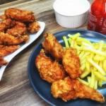 Smażona pierś z kurczaka Sriracha