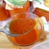 pyszny, łatwy sos pomidorowy z ostrą papryką...
