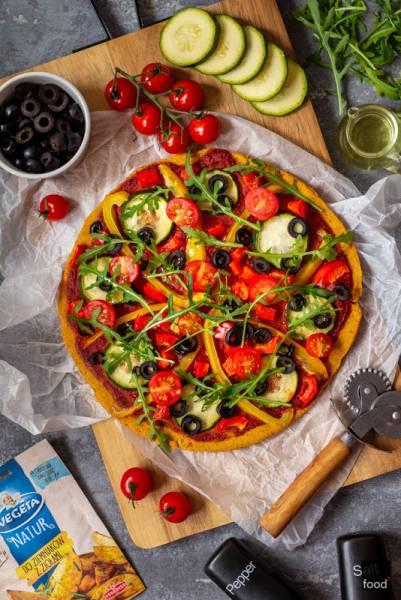 Bezglutenowa pizza z batata