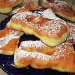 Taratuszki-pulchne faworki na kefirze, szybkie, pyszne idealne na tłusty czwartek