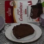 Ciasto czekoladowe z foremki
