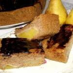 smaczne,łatwe,szybkie piernikowe ciasto z gruszkami...
