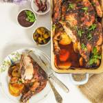 Chrupiący pieczony kurczak