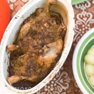 kurczak pieczony w kiszonej kapuście