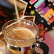Kawa latte z przyprawami