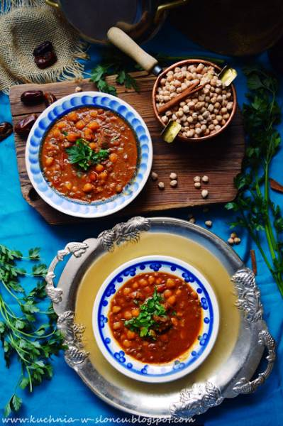 Harira - aromatyczne rozgrzanie prosto z Maroka