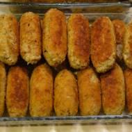 Krokiety z kaszy gryczanej z kurczakiem