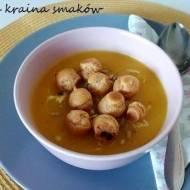 Rozgrzewająca zupa dyniowa z imbirem