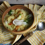 Kokosowa zupa z krewetkami