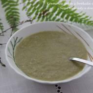 Kremowa zupa z brokuła i pietruszki