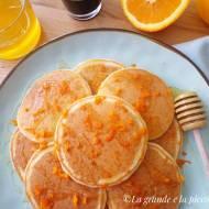 Pomarańczowe placuszki (Pancake all'arancia)