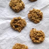 Ciasteczka owsiane z dynią