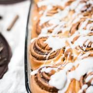Cinnamon rolls - najlepszy przepis na bułeczki cynamonowe!