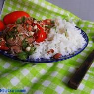 Sałatka birmańska z pomidorów i cebuli