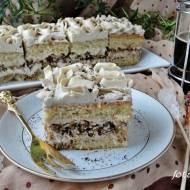 Ciasto mocca z orzechami