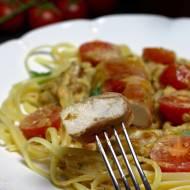 Filety z kurczaka w sosie z suszonych pomidorów
