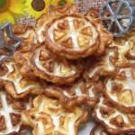 Ciasteczka karnawałowe rozetki-idealne na tłusty czwartek