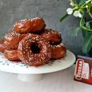 Pączki z dziurką - donuty z czekoladą