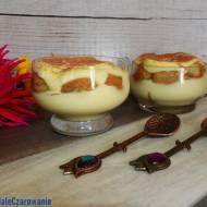 Tiramisu w pucharkach - włoski deser