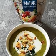 Zupa krem z brukselki mrożonej