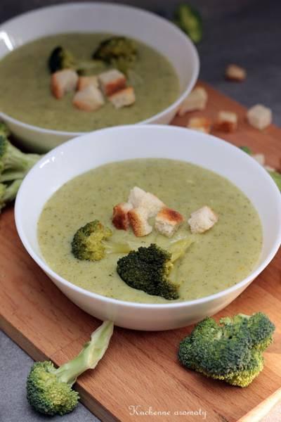 Krem brokułowo - serowy
