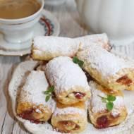 Kruche roladki z dżemem – pyszne ciasteczka