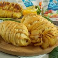 Kurczak w cieście francuskim z pieczonymi ziemniakami