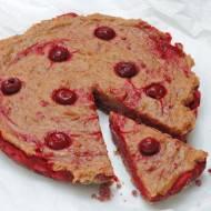Wiśniowo-Karmelowe Ciasto