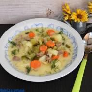Zupa ogórkowa z cynadrami