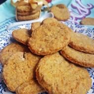 Kruche ciasteczka marchewkowe