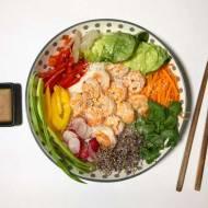 Poniedziałek: Sajgonki bez zawijania, czyli spring rolls bowl