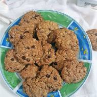 Szybkie ciasteczka owsiane z czekoladą