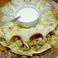 Tortille zapiekane -przekąska imprezowa