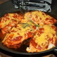 Węgierskie filety z kurczaka , szybki obiad
