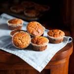 Migdałowe muffinki z bananami i cukinią