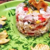 Sałatka tuńczyk z ryżem