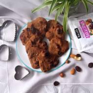 Ciasteczka gryczane z bakaliami - bez cukru, glutenu i laktozy