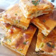 Pieczona frittata z batatami (Frittata al forno con patate dolci)