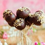 Trufle czekoladowe na patyczkach