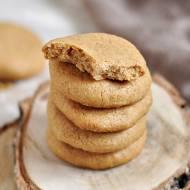 3 składnikowe PEANUT BUTTER COOKIES (ciasteczka z masła orzechowego) | Bez mąki, cukru, glutenu, laktozy |