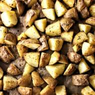Pieczone ziemniaczki w chrupiącej skórce z ziołami