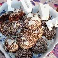 Czekoladowo-kokosowe ciasteczka z majonezem (moje ulubione, kruche i delikatne)