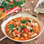 Fasolowa rybna zupa