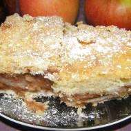 smaczna sypana szarlotka jabłkowo-śliwkowa...