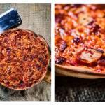 Pizza z kimchi i chorizo