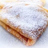 Szybkie naleśniki z cukrem pudrem