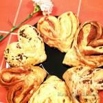 Walentynkowe serduszka drożdżowe