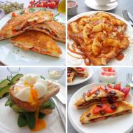 4 przepisy na tosty na słodko i słono