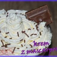Krem z mascarpone do tortów i deserów